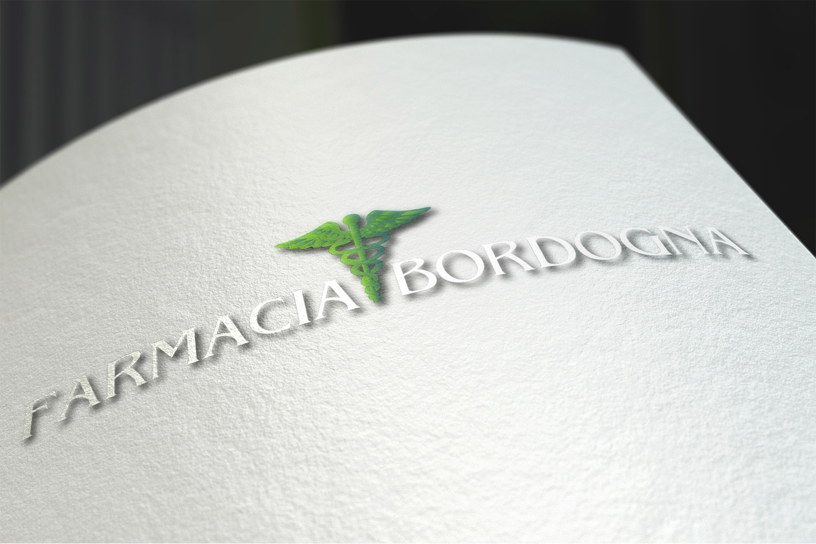 Tescaroli Creative and Logo Farmacia Bordogna
