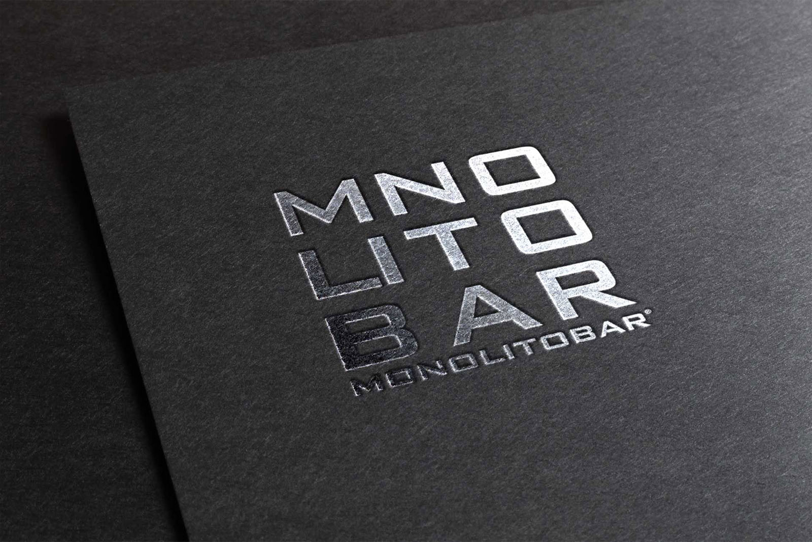 Tescaroli Creative and Logo Monolitobar