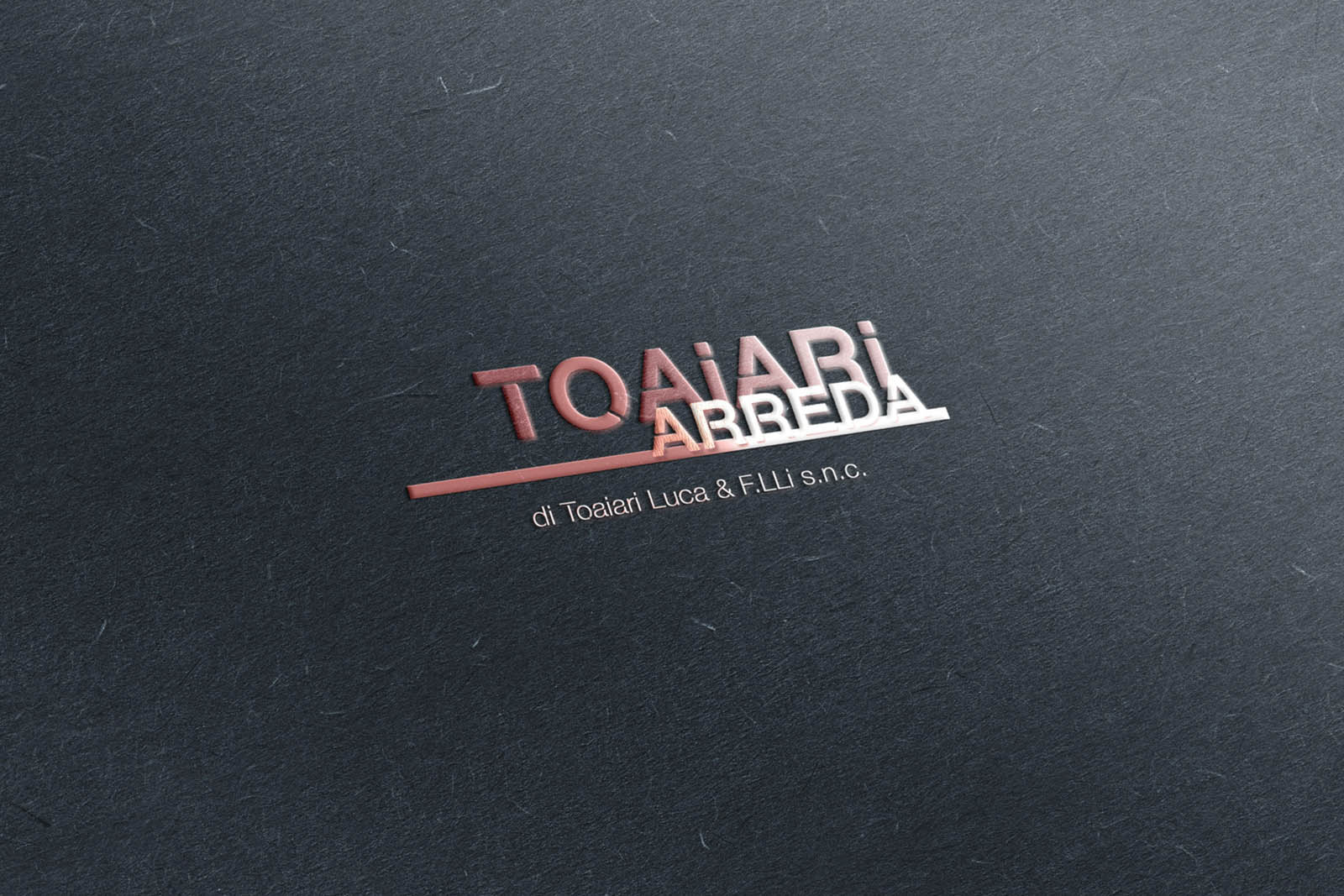 Tescaroli Creative and Logo Toaiari Arreda